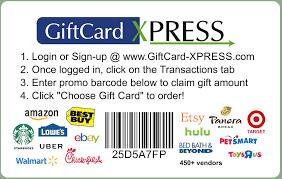 gift card vendors gift card xpress inc home