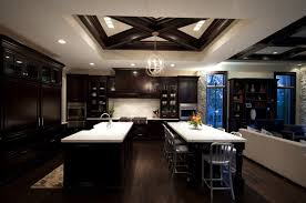 Espresso Kitchen Cabinets by 22 Beautiful Kitchen Colors With Dark Cabinets Home Design Lover