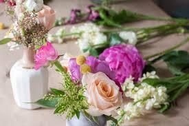 Arranging Roses In Vase The Littlest Fry