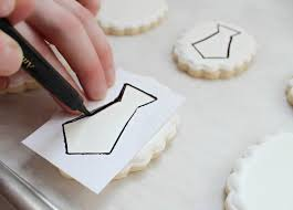 making a paper cookie stencil u2013 the sweet adventures of sugar belle