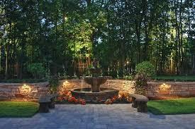 solar retaining wall lights retaining wall lighting landscape patios walkways driveways
