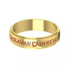 name rings for name engraved wedding ring gold rings online gold rings