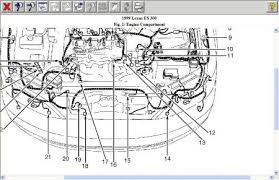 1999 es300 engine diagram 1999 wiring diagrams instruction