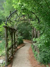 a garden tunnel nice fences and gates pinterest nice