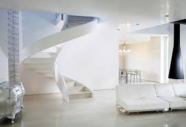 Refined Contemporary Design Self Supporting Spiral Staircases By