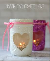 jar candle ideas glitter votives jar crafts