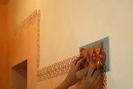 schablone wandgestaltung wandschablonen malerschablonen bordürenschablonen
