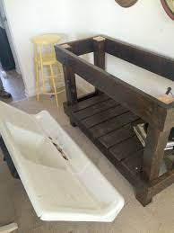 vintage cast iron sink drainboard our salvaged antique cast iron sink project farmhouse made