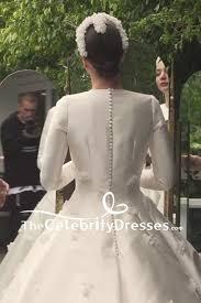 wedding dress miranda kerr miranda kerr ivory embroidered wedding dress with sleeves
