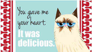 grumpy cat valentines day cards of the grumpy cat 18 pics