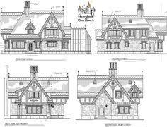 Old English Tudor House Plans English Cottage House Plans Cottage Pinterest English