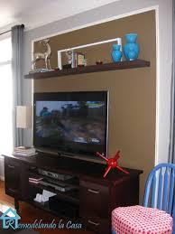 Kitchen Floating Shelves by Home Design Floating Shelves Around Tv Carpenters Decorators