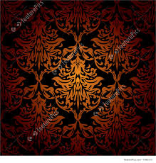 black and orange halloween background illustration of seamless warm wallpaper