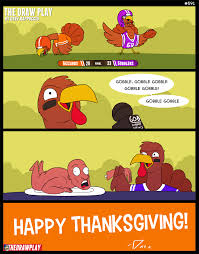have a great turkey day the draw play