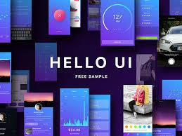 hello ui kit free sketch app free psds u0026 sketch app resources