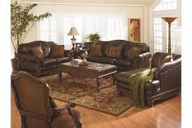 North Shore Dark Brown Sofa North Shore Chaise Ashley Furniture Homestore