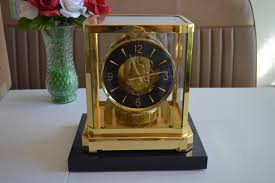 Mantle Clock Repair 1982 Jaeger Lecoultre Atmos 528 8 Jaeger Lecoultre Atmos Clock