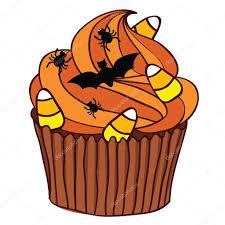 halloween cupcake u2014 stock vector wingedcats 6946170