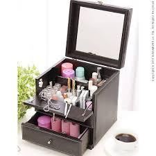 Makeup Box thing rakuten global market leather like makeup box bijou