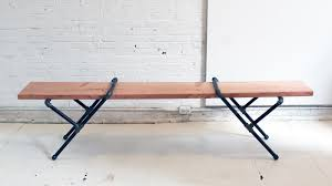 Diy Pipe Desk by Homemade Modern Ep 23 Diy Pipe Bench Youtube