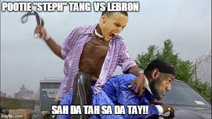 Pootie Tang Meme - image tagged in stephen curry steph curry lebron stephen curry