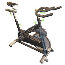 silk 77100 indoor exercise bike w chain drive system pro maxima