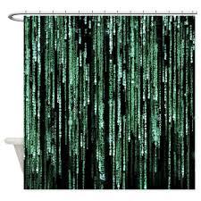 36 X 72 Shower Curtain Geek Shower Curtains Geek Fabric Shower Curtain Liner