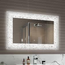 bathroom mirrors with shaver sockets bathroom amazing led bathroom mirrors with demister and shaver