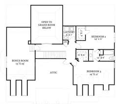 house plans with bonus room ryefield classical house plan house plan designer