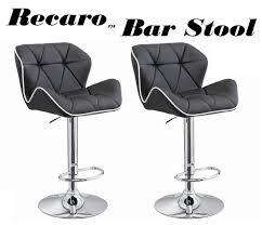 Bar Stool Sets Of 2 Recaro Modern Adjustable Bar Stool Set Of 2 Pertaining To 1