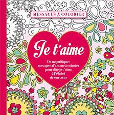 Art Book ↠ Messages damour à colorier PDF by Collectif ↠ eBook