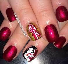 42 best seminoles nails hair and makeup images on pinterest