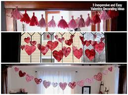 valentine home decorating ideas home decor best valentine decorations to make at home home design