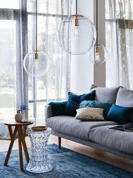 Modern Pendant Lighting Dining Room by Marcel 250mm Pendant In Clear Brass Modern Pendants Pendant