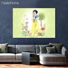 wall ideas disney princess belle fashionista canvas wall art