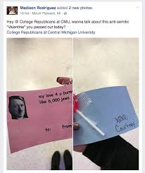 University Of Michigan Memes - university officials investigating hitler valentine s day card