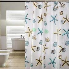 starfish shower curtain ebay