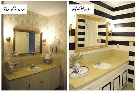 Bathroom Tile Makeover - before and after bathroom paint makeover paint makeovers pinterest