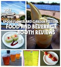 full review 2013 epcot flower and garden festival food pictures