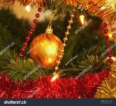 tree ornaments glass chain stock photo 90522106
