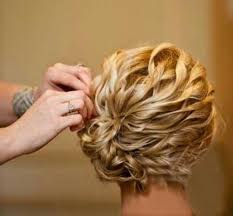 Einfache Hochsteckfrisurenen F Kinnlanges Haar by 15 Einfache Kurzes Haar Hochsteckfrisuren Hochsteckfrisuren