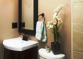fine modern half bathroom ideas double sink for design decorating modern half bathroom ideas