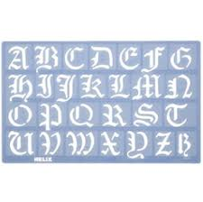 stencils and templates metal clay discount supply