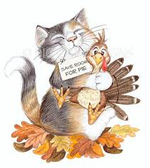 thanksgiving cat clipart clipartxtras