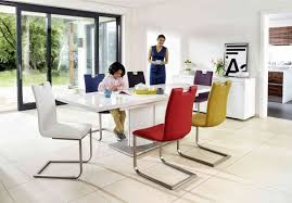 Dinner Table Chairs by Grande White High Gloss Extending Dining Table Furniture Village