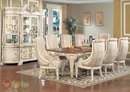 Antique White Dining Room Set Formal Dining Room Furniture Set - Formal dining room
