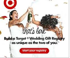 weddings registry the target ads for same weddings registry