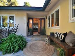 contemporary porch with exterior tile floors u0026 wrap around porch