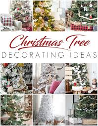 white christmas tree rustic glam style setting for four