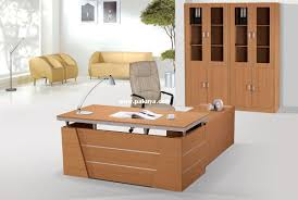 Simple Wooden Office Tables Office Furniture Modern Office Furniture Design Medium Plywood